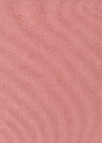Pink color  . 21 wale Rigid Shirting Corduroy 100% Organic cotton 229/meter -