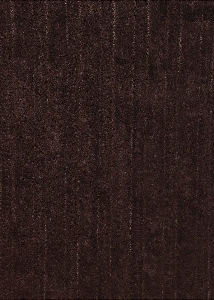 Brown color  . 4 wale Elephant High low Rigid Corduroy 100% organic cotton Rs 258/meter -