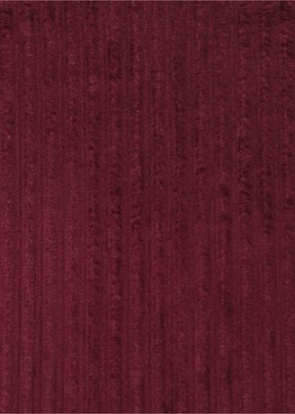 Maroon color  . 4 wale Elephant High low Rigid Corduroy 100% organic cotton Rs273/meter -