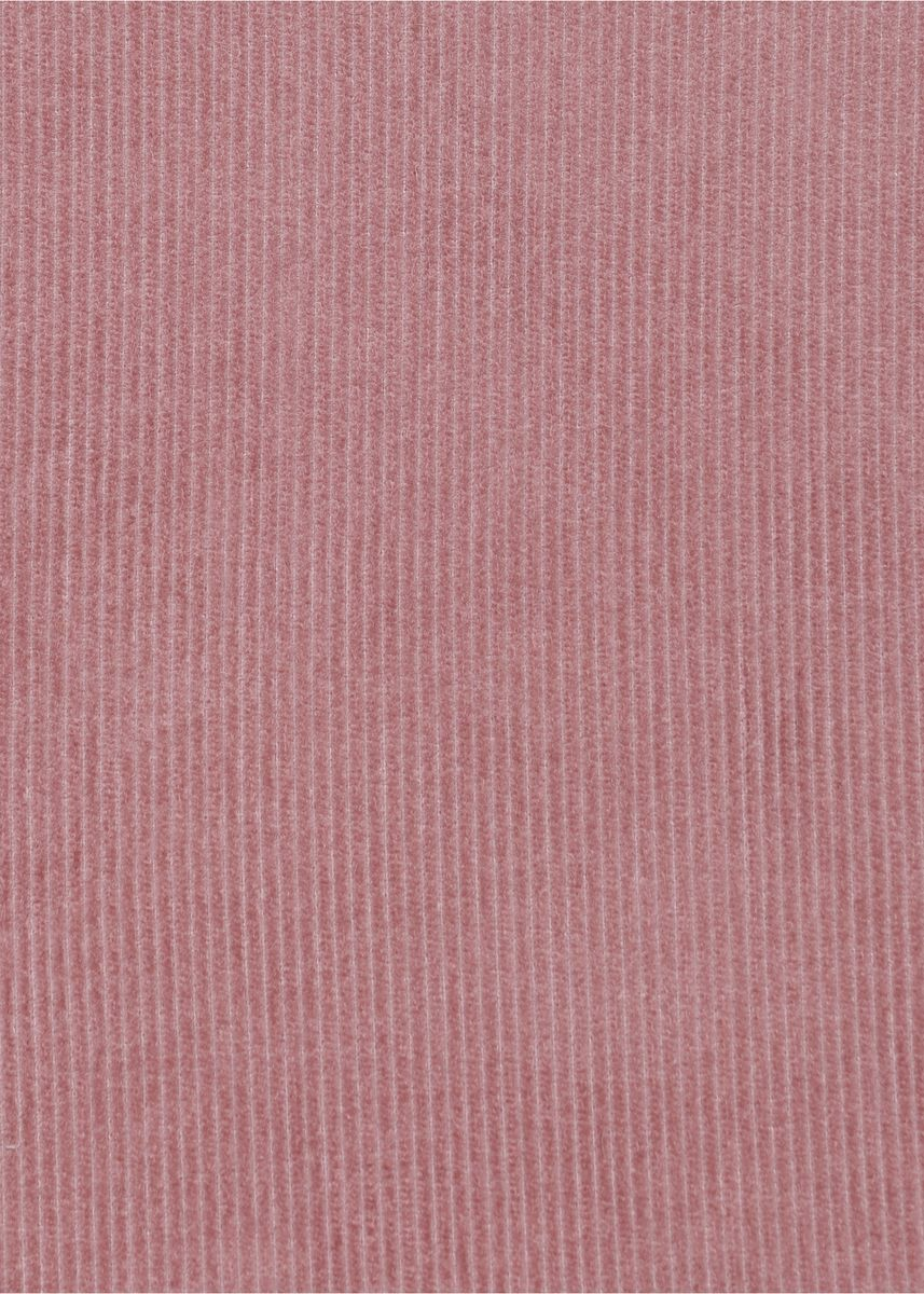 Pink color  . 16 wale Rigid Semi-Suiting Corduroy 100% organic cotton Rs253/meter -