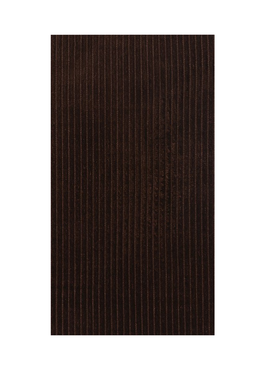 Brown color  . 8 wale Suiting Stretch Corduroy organic cotton Rs 272/meter -