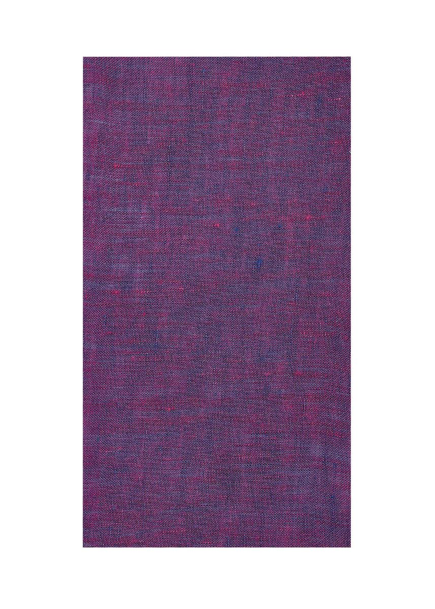 Purple color  . 100% organic Linen Rs 481/meter -