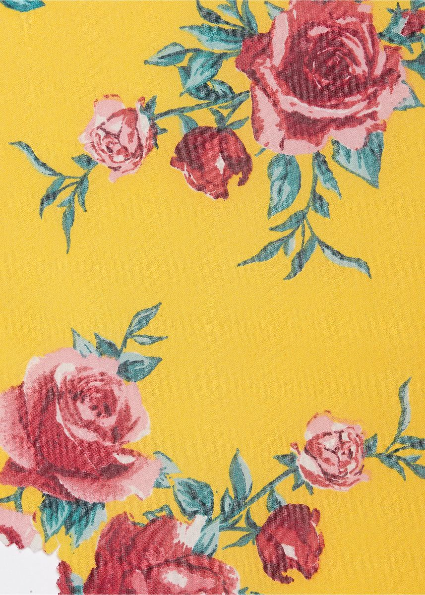 Yellow color  . 100% POLYESTER, Rs. 82.5/kg -