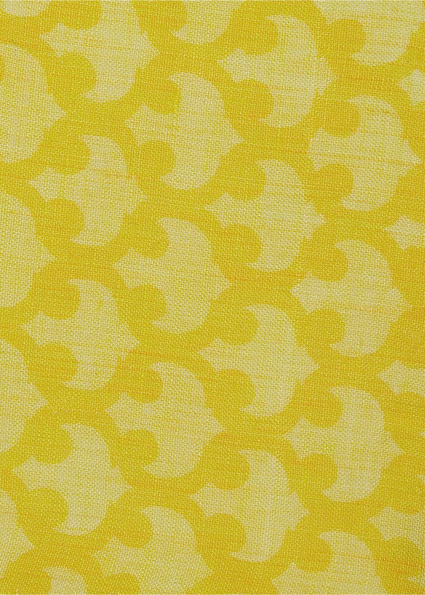 Yellow color  . 100% organic Linen Rs 479/meter -