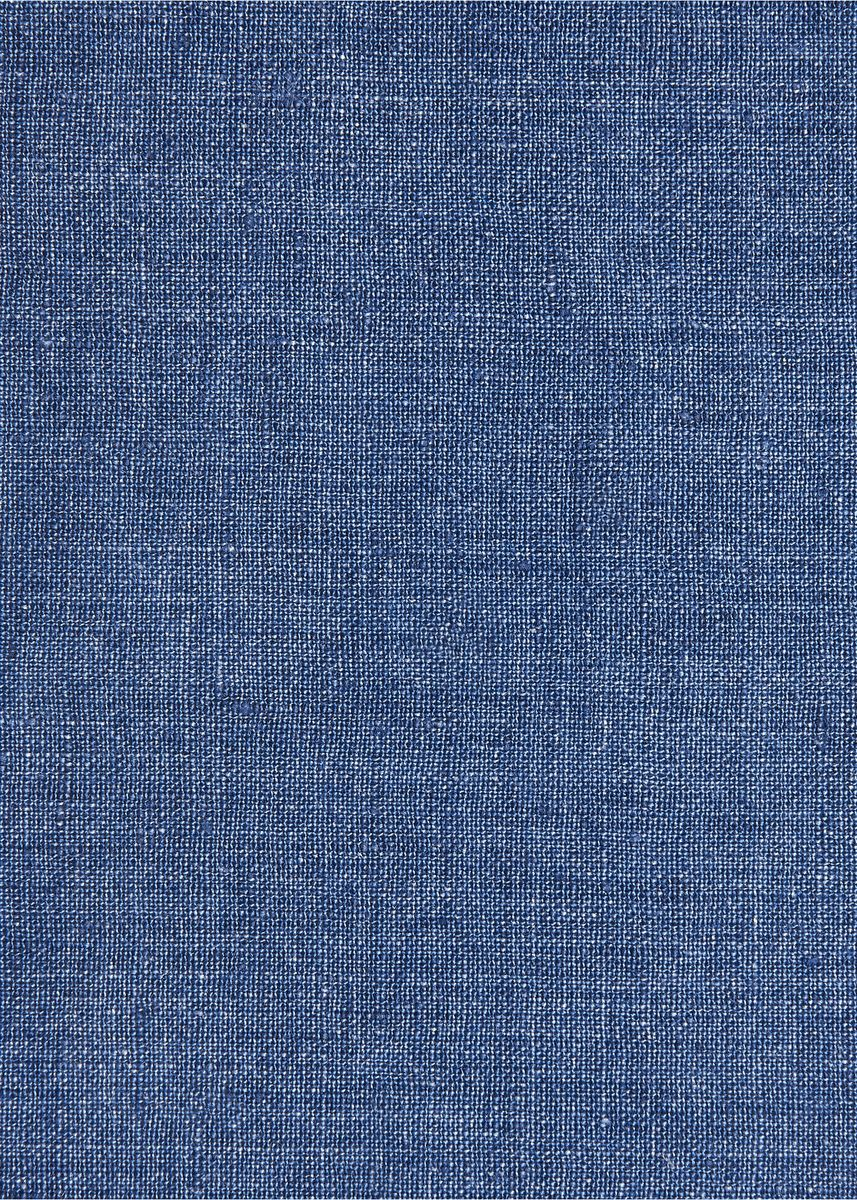 Blue color  . 100% organic Linen Rs 582/meter -