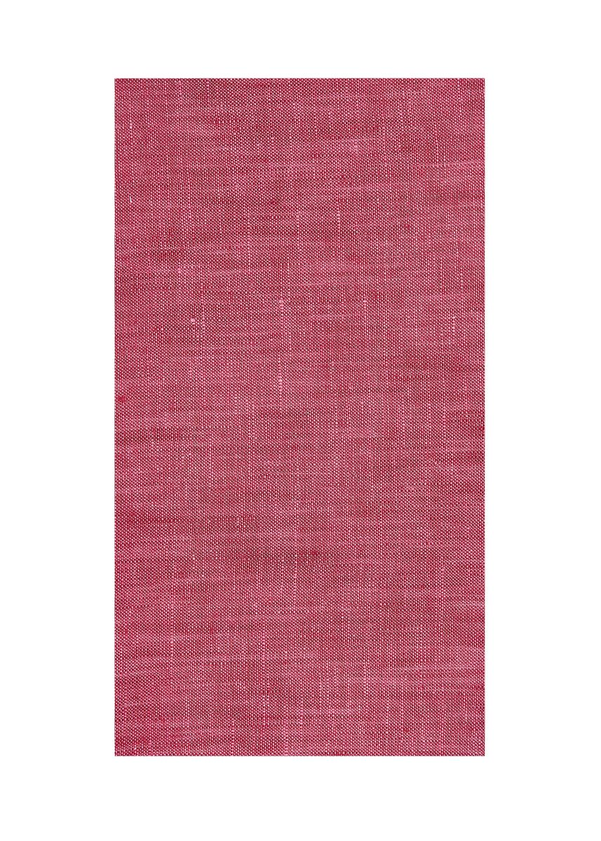 Red color  . 100% organic Linen Rs 581/meter -