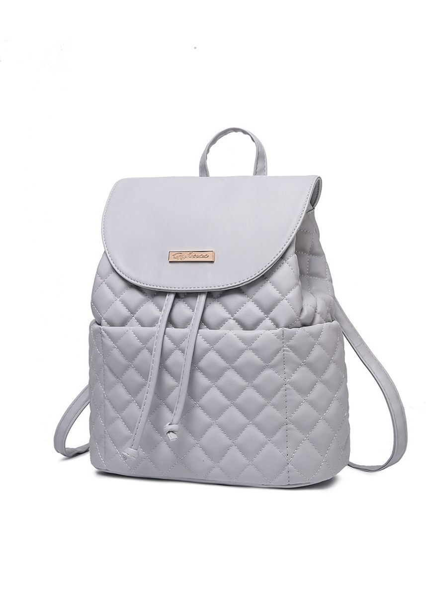 Grey color Sling Bags . GYKACO Neola - Tas Ransel Wanita - Fashion Backpack (Import) -