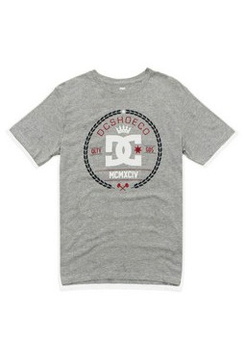 Grey color T-Shirts and Polos . DC Men's Round Neck T-Shirt -