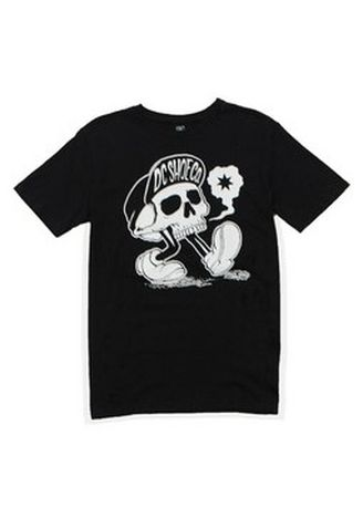 Black color T-Shirts and Polos . DC Men's Round Neck T-Shirt -