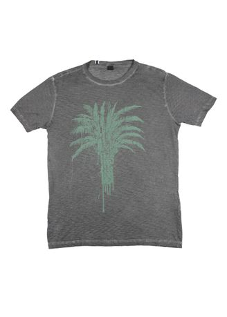 Grey color T-Shirts and Polos . Replay Men's Round Neck T-Shirt -