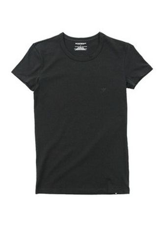 Black color T-Shirts and Polos . Ladies Round Neck Shirt -