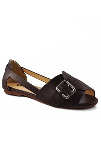 Brown color Sandals and Slippers . Khoee Fashion Sandals for Women 268-63 Women's Sandals -