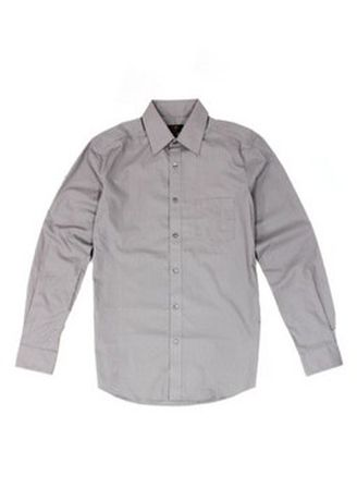 Grey color Formal Shirts . G2000 Men's Long Sleeve Woven Shirt -