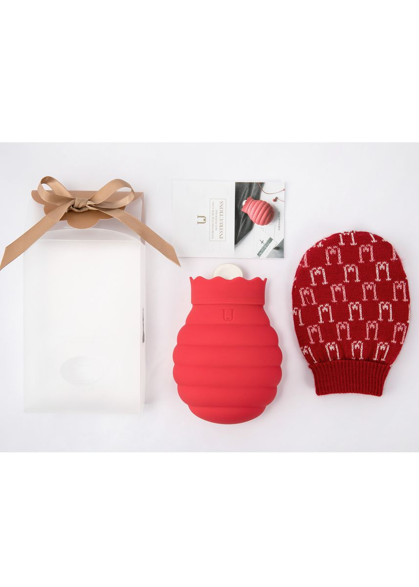 Red color Kitchen . Jordan & Judy Beehive Hot/Ice Water Bag-Grey-S -