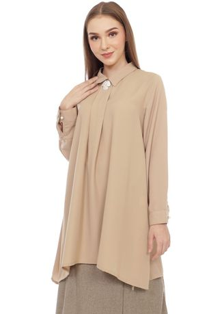 Tops and Tunics . SIMPLICITY Tunic With Brooch -