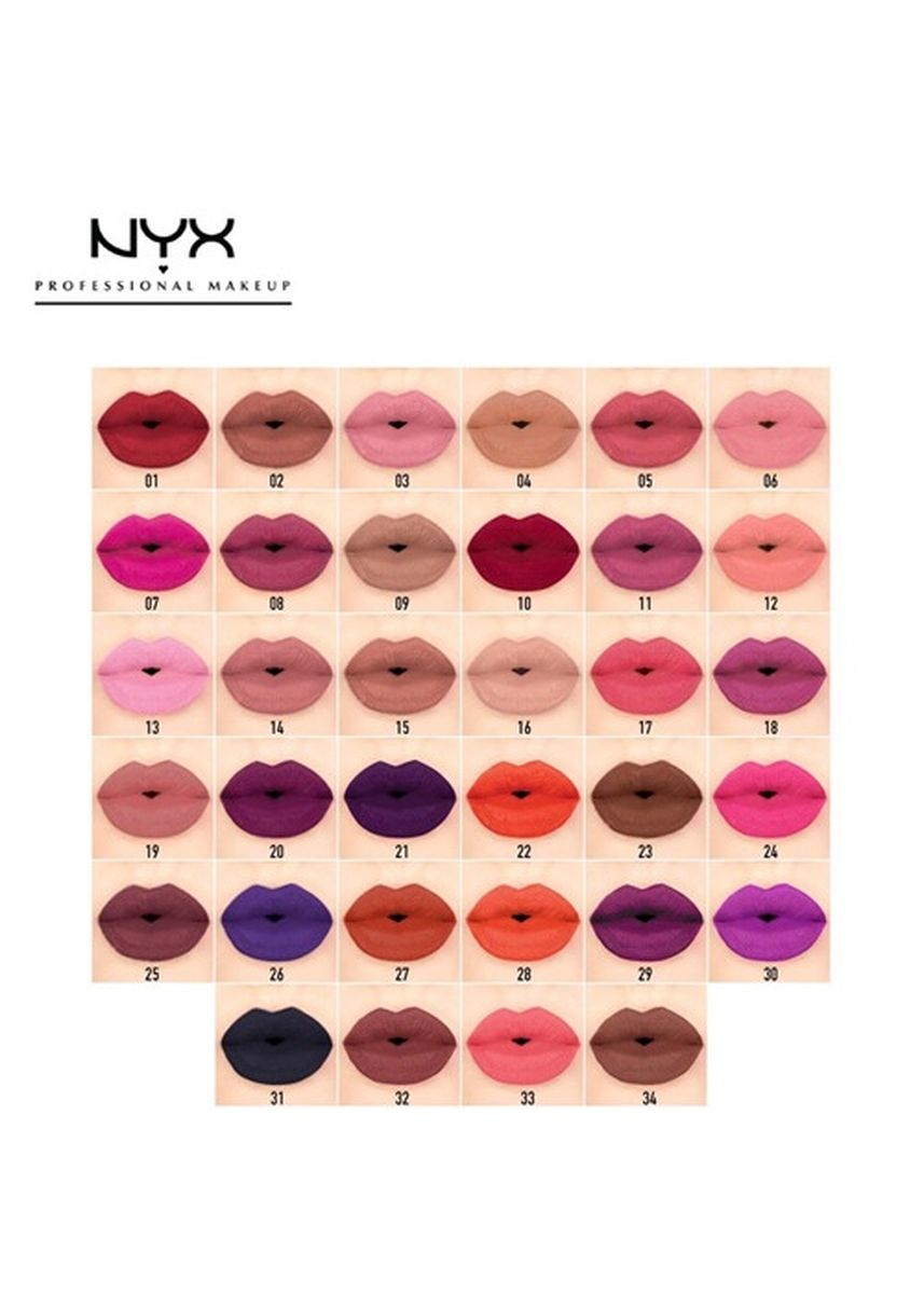 Brown color Lips . NYX Soft Matte Lip Cream - SMLC19 Cannes -