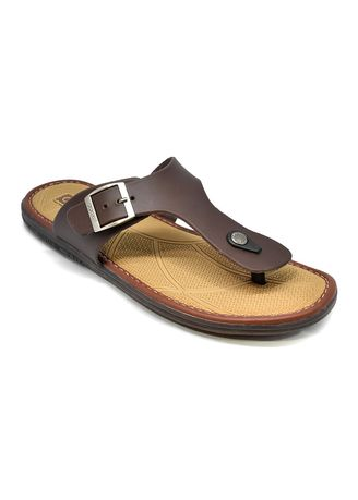 Sandals and Slippers . Carvil Sandal Pria SONIC 01 M Brown -