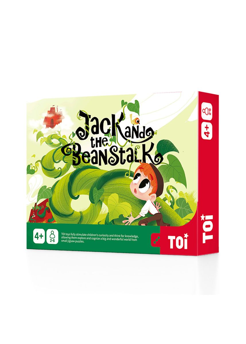 Multi color Toys . Jack And The Beanstalk (4+ yo) -