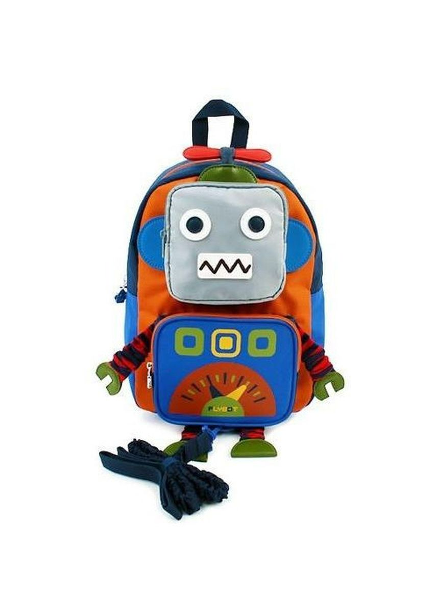 Orange color Bags . Winghouse - Flybot Play Safety Backpack -