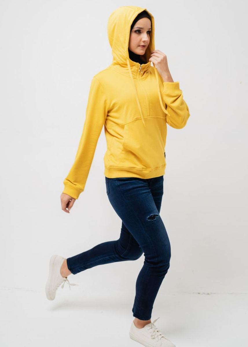Yellow color Outerwear . Greenlight Women Jacket 110320 -