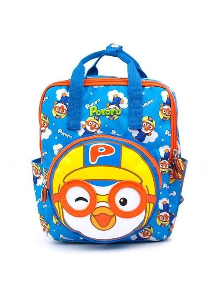 Blue color Bags . Winghouse - Pororo Face Pocket Backpack -