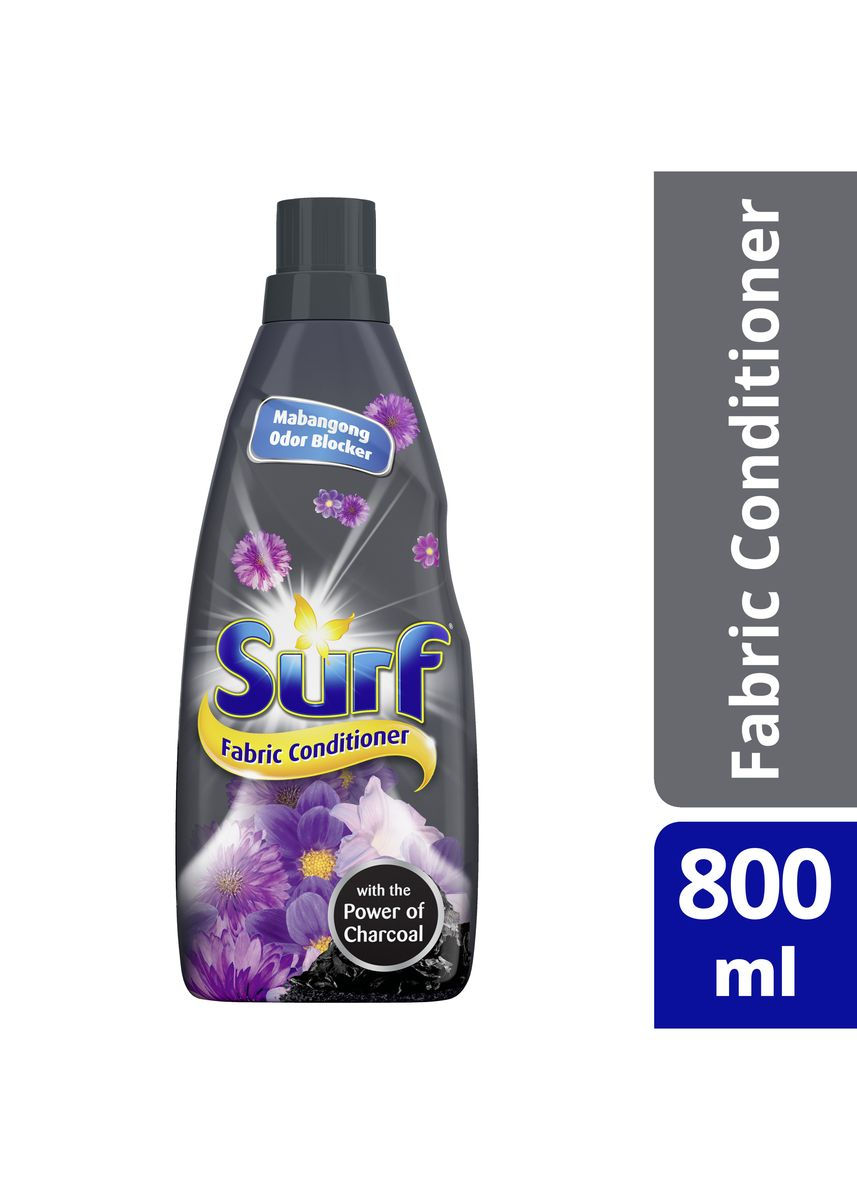 No Color color Laundry . Surf Fabric Conditioner Charcoal Fresh 800Ml Bottle  -