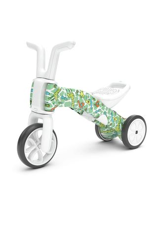 Green color Toys . Chillafish - Bunzi Gradual Balance Bike FAD Edition (Giraffiti) -