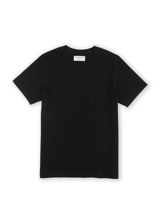 Black color T-Shirts and Polos . TWENTYSECOND Classic Pocket Tees -