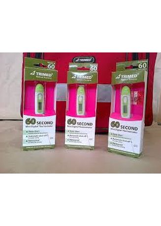 Tidak Berwarna color Sampo Bayi . Trimed Digital Thermometer 60Detik -