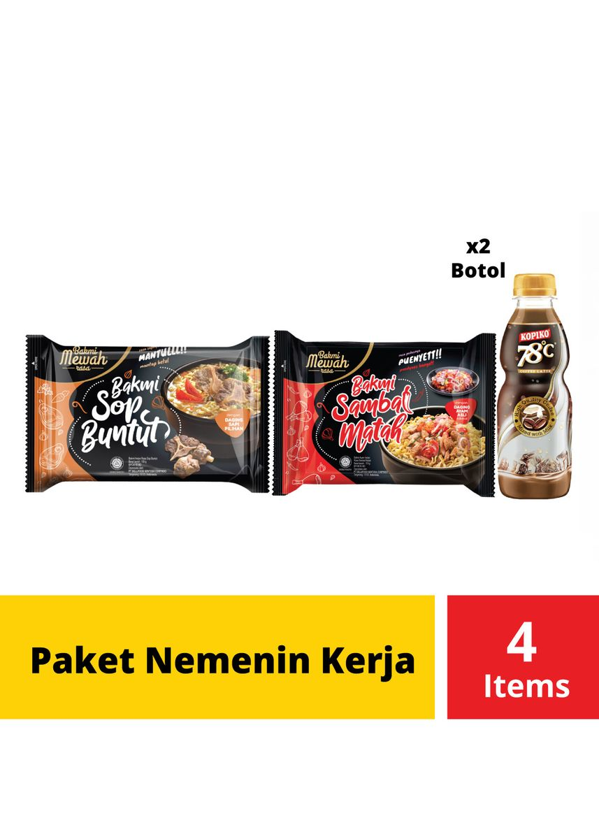 No Color color Snacks . Paket Nemenin Kerja -