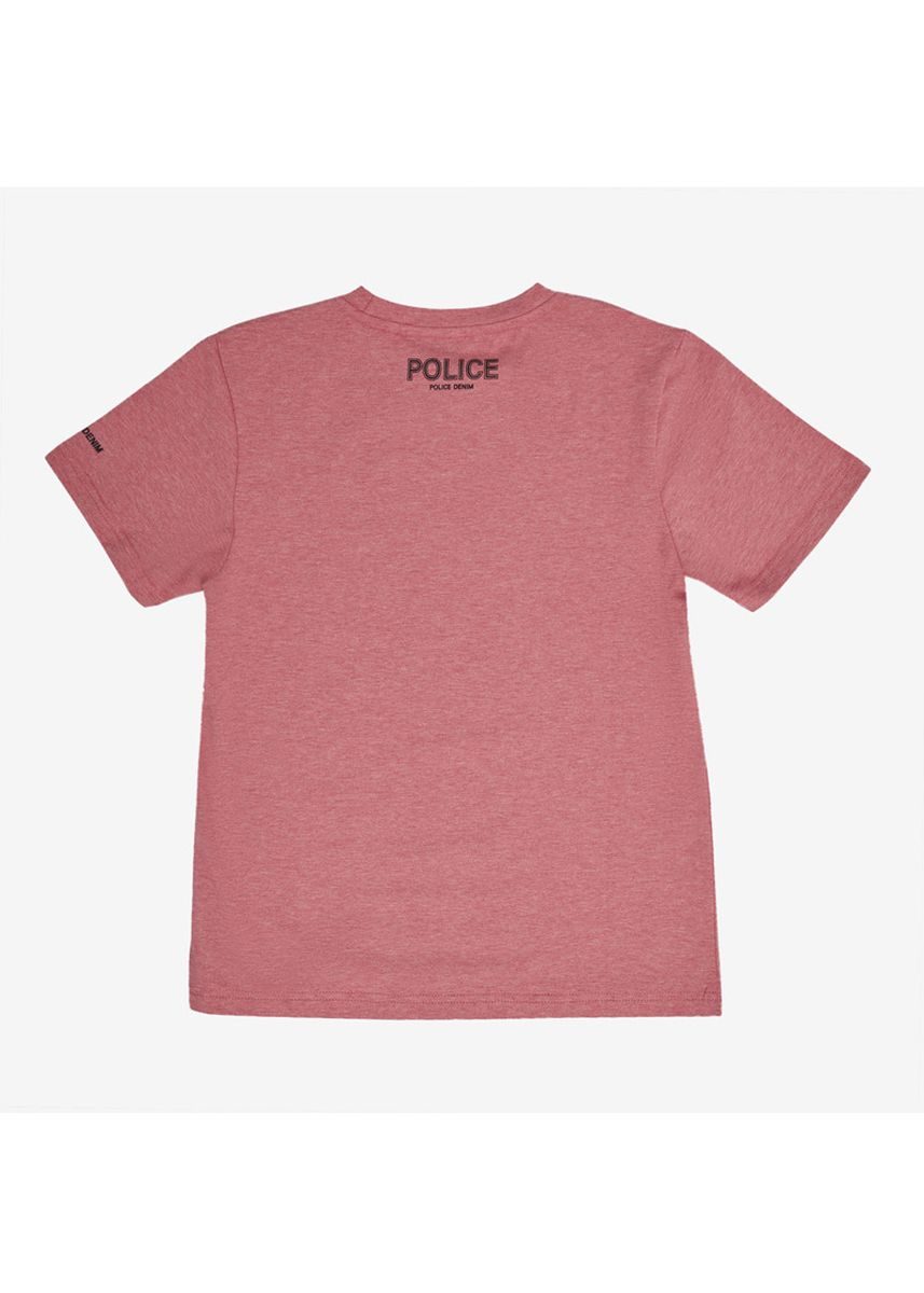 Red color Tops . Police Kids Tshirt -