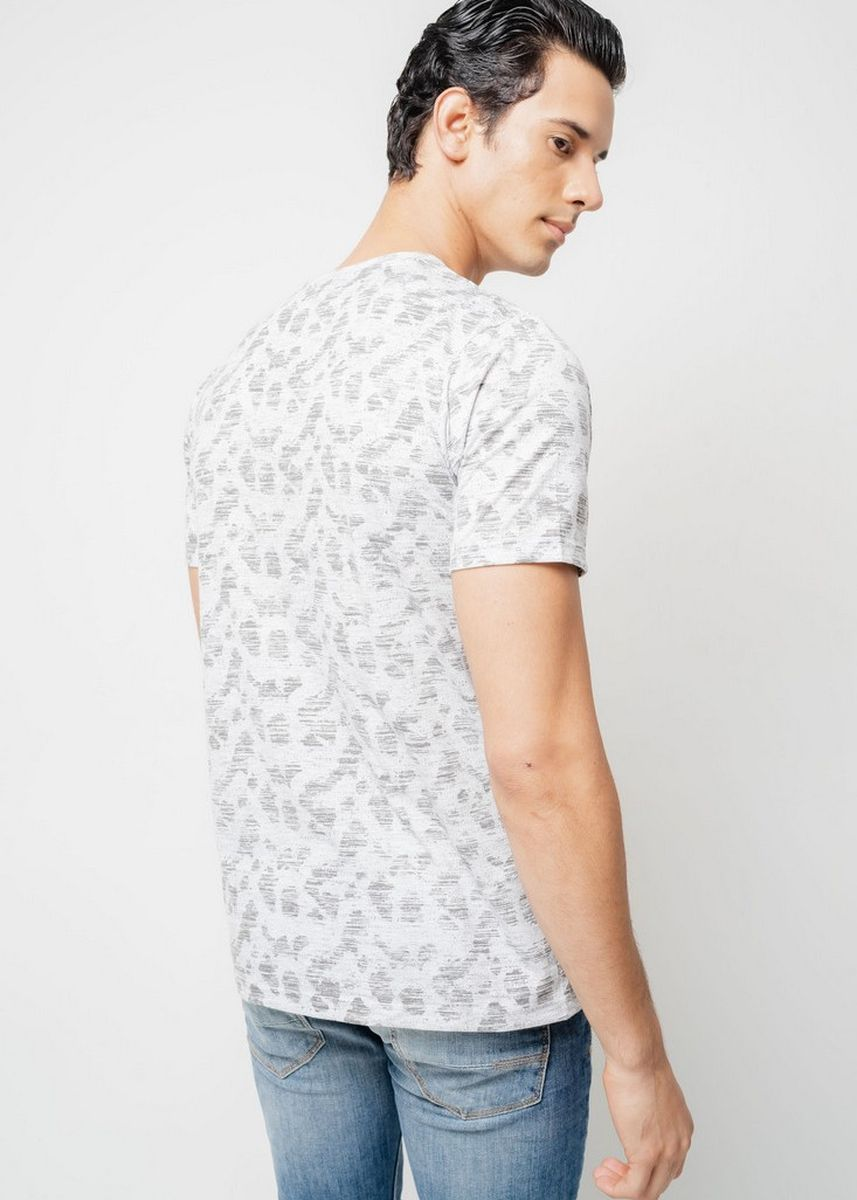 Grey color T-Shirts and Polos . Moutley Men Tshirt 020420 -
