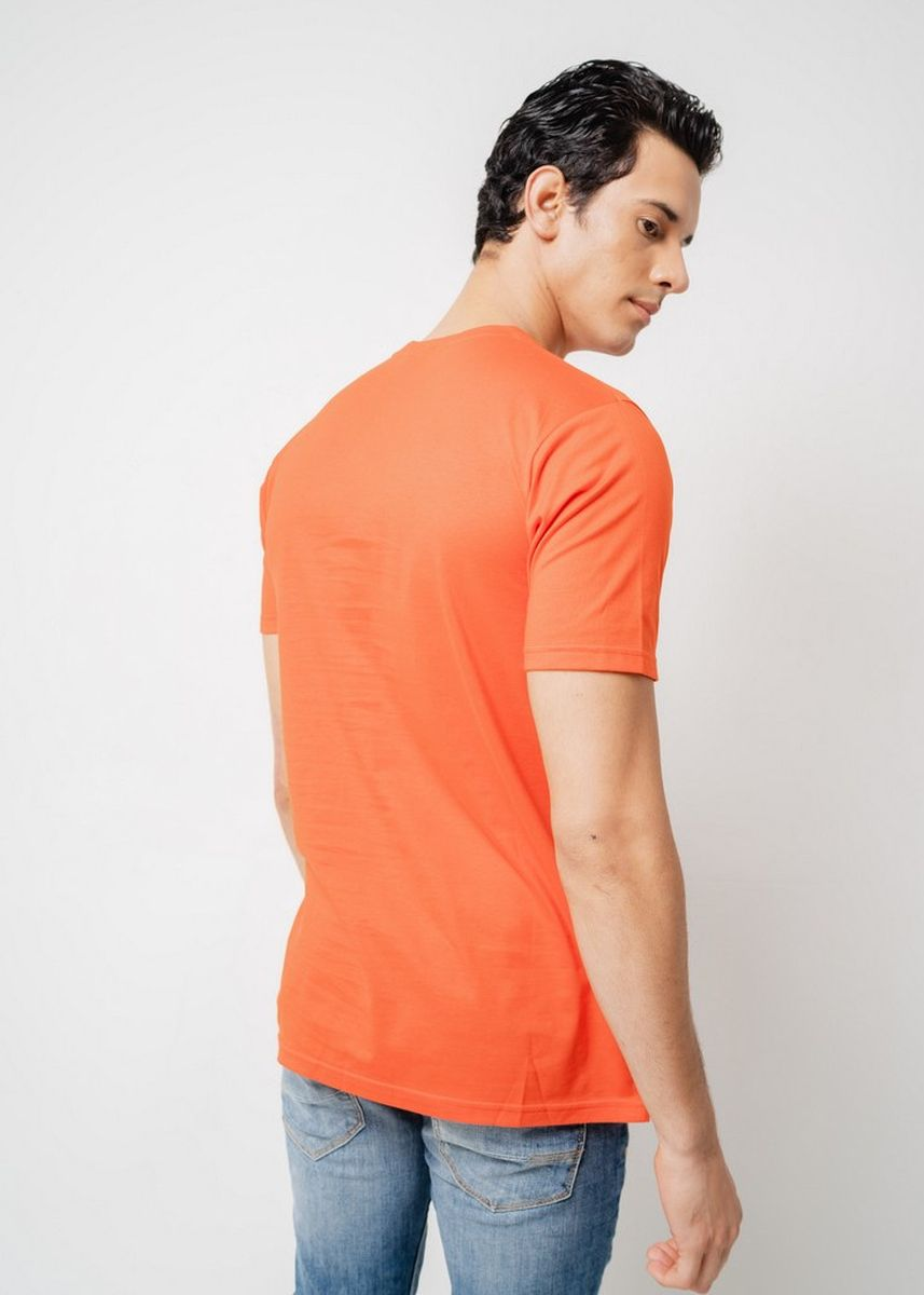 Red color T-Shirts and Polos . Moutley Men Tshirt 090420 -