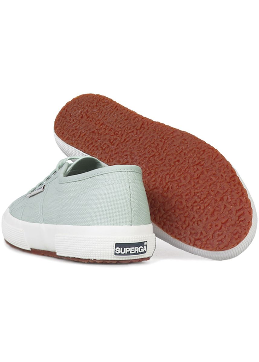 Green color Casual Shoes . Superga 2750 in Green Agave -
