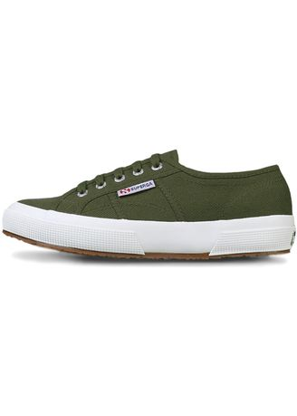 Olive color Casual Shoes . Superga 2750 in Military Green -