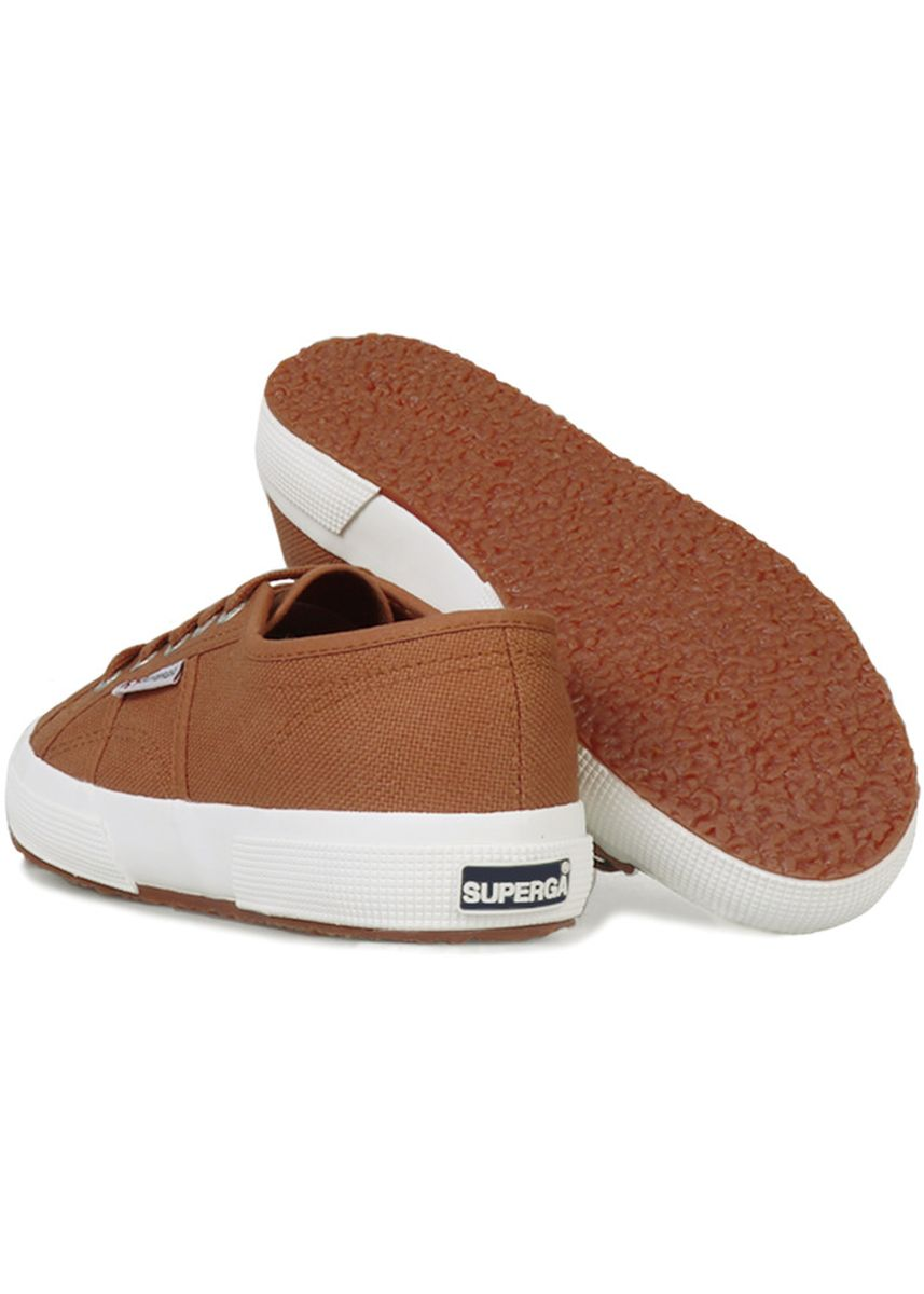 Brown color Casual Shoes . Superga 2750 in Brown Sierra -