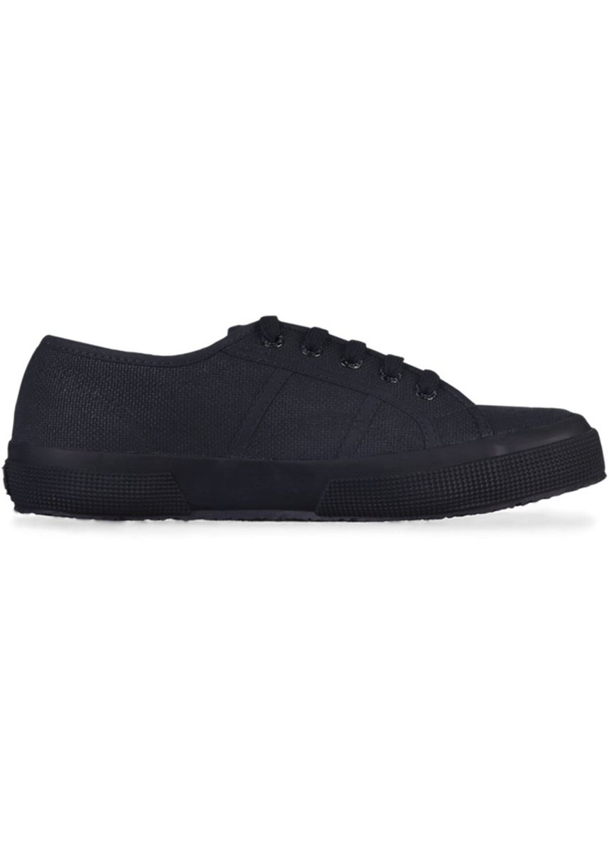 Black color Casual Shoes . Superga 2750 in Total Black -