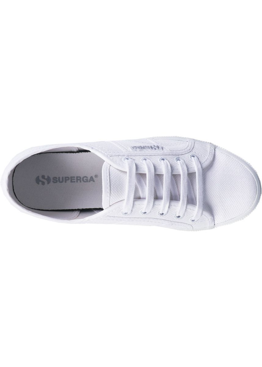 White color Casual Shoes . Superga 2750 in Total White -