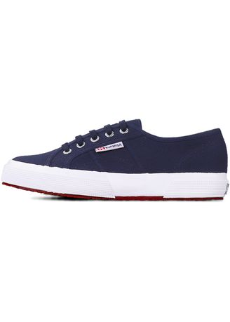 Navy color Casual Shoes . Superga 2750 in Navy-White -