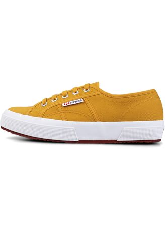 Yellow color Casual Shoes . Superga 2750 in Yellow Golden -