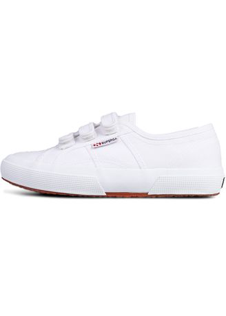 White color Casual Shoes . Superga Strap in White -