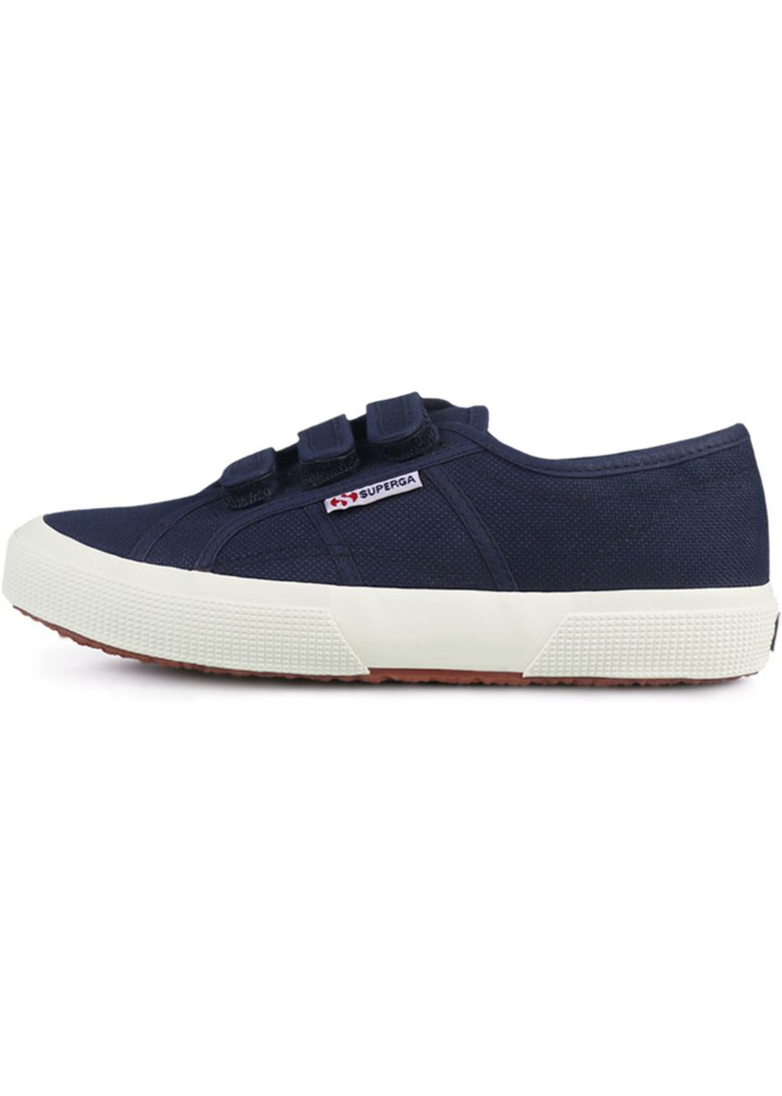 Navy color Casual Shoes . Superga Strap in Navy -