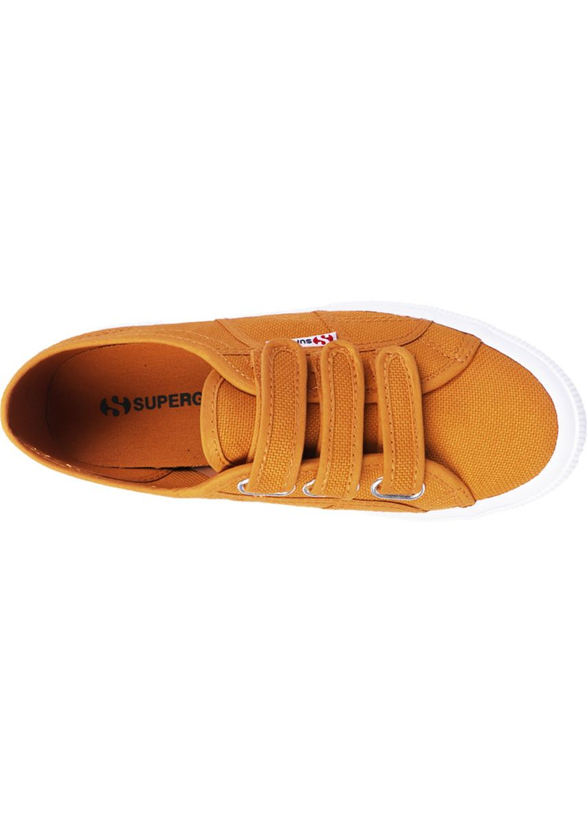 Yellow color Casual Shoes . Superga Strap in Yellow Golden -