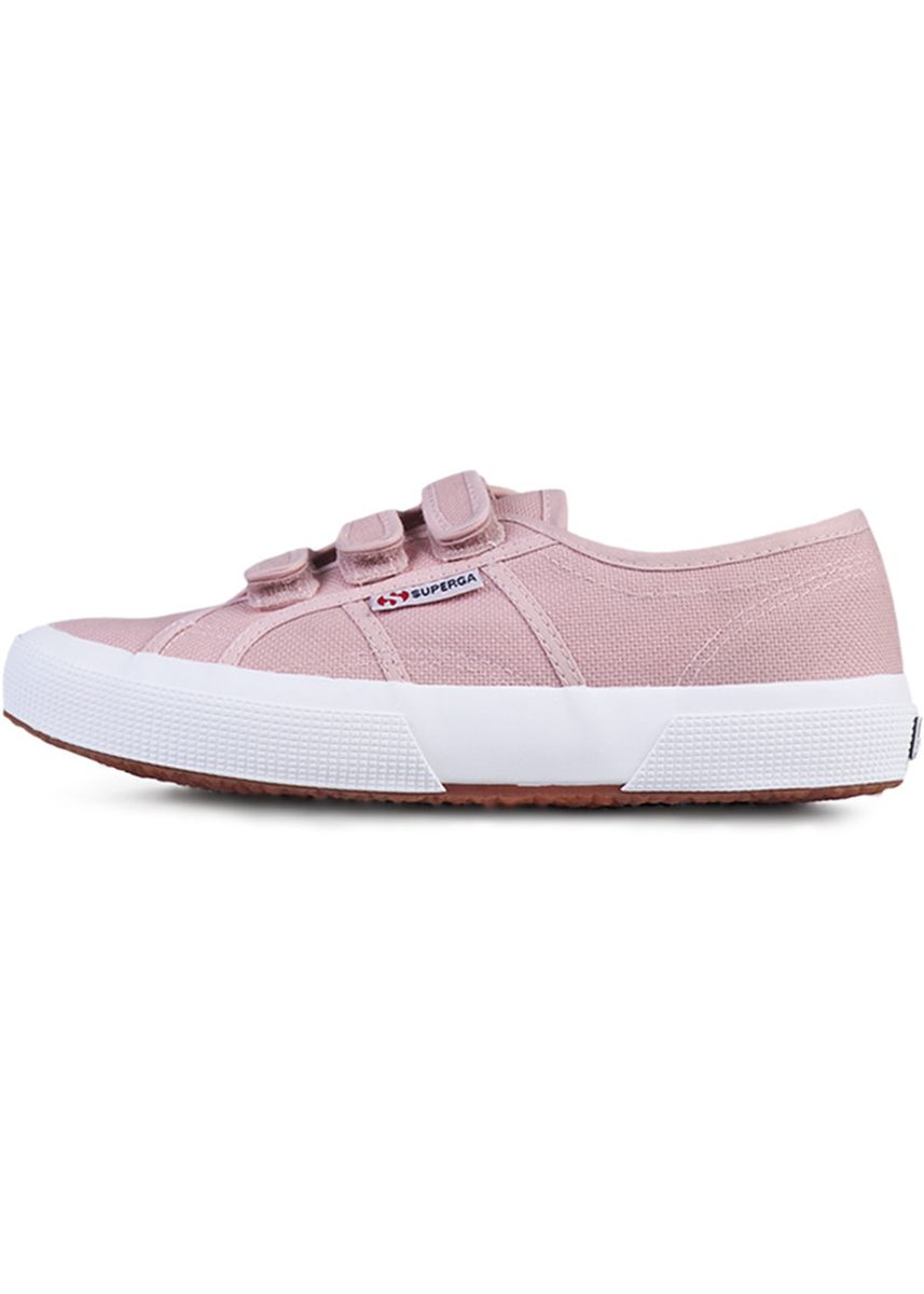 Pink color Casual Shoes . Superga Strap in Pink Smoke -