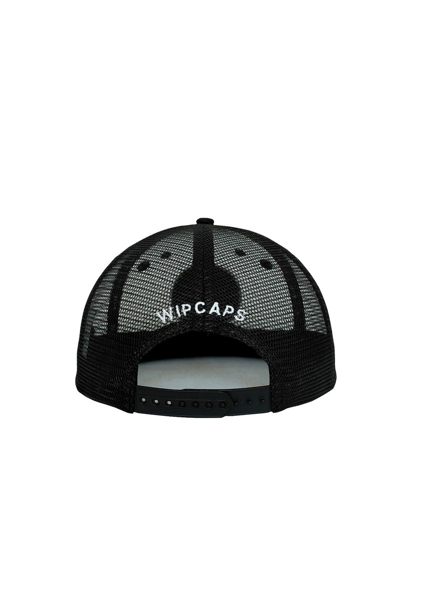 Black color Hats and Caps . WIP Round Up Mesh Snapback -