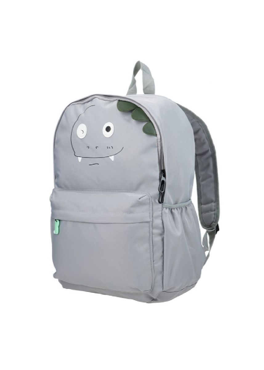 Grey color Backpacks . MAYONETTE Dinosa Backpack - Tas Punggung -