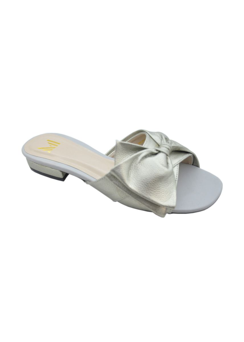 Silver color Flats . MAYONETTE Carey Flats - Korean Style -
