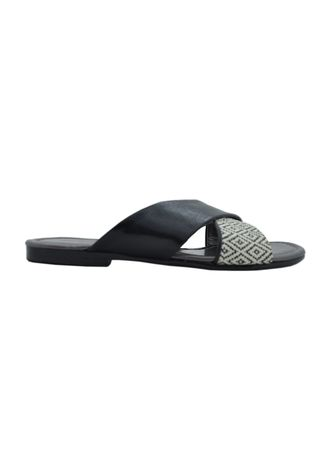 Black color Sandals and Slippers . MAYONETTE Kinaka Flats -