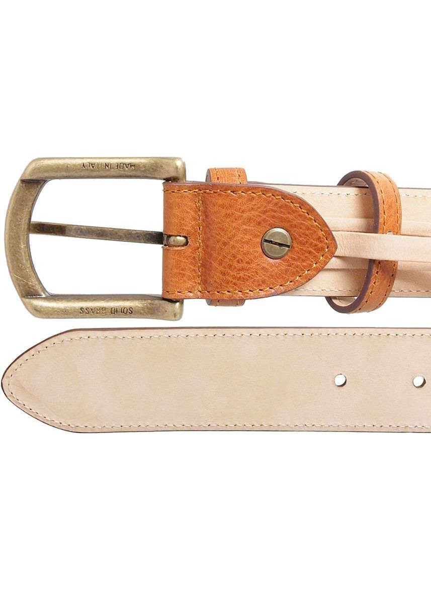 Brown color Belts . Antique Buckle Leather Belt -