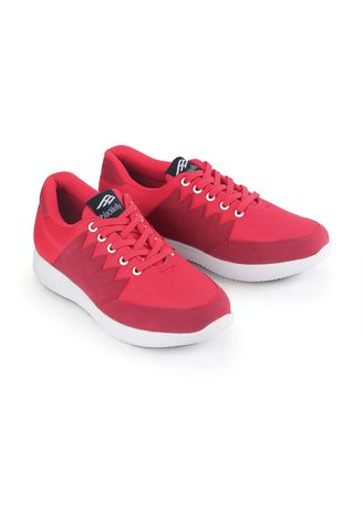 Red color Casual Shoes . Blackkelly Sepatu Sneakers Wanita Sporty - Red -